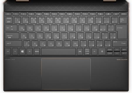 HP Spectre x360 14(2020年モデル)のキーボード
