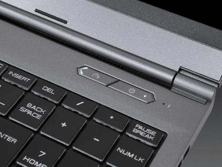 G-Tune E5-144 パフォーマンスモードへの切り替えボタン