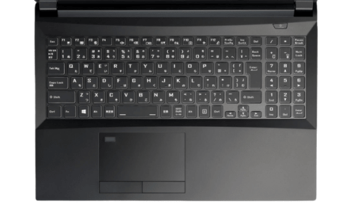 G-Tune E5-Dのキーボード