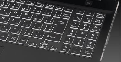 G-Tune E5のキーボード テンキー