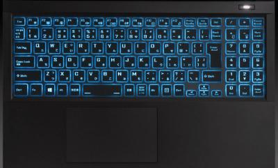 G-Tune P5のキーボード