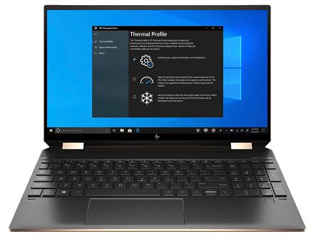 HP Spectre x360 15-eb1000の外観 正面