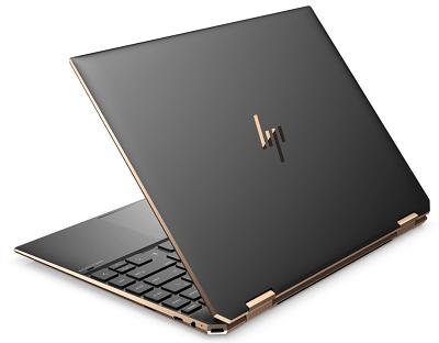 HP Spectre x360 14(2020年モデル)の外観 背面から
