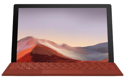 Surface Pro 7のディスプレイ