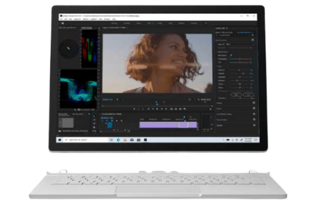Surface Book 3 正面