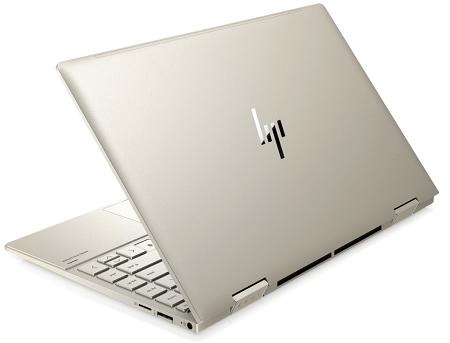 HP Envy x360 13-bd0000の外観 背面
