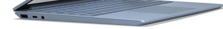 Surface Laptop Goのインターフェイス