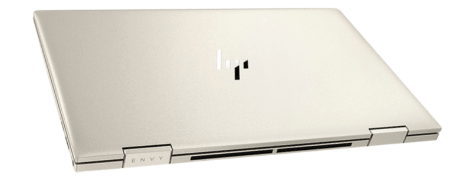 HP Envy x360(インテル)の外観 天板