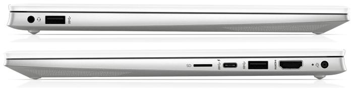 HP Pavilion 14-dv0000の側面インターフェイス