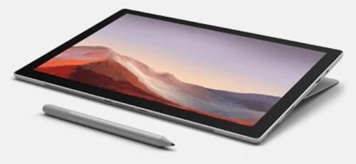 Microsoft Surface Pro 7の外観 タブレットモード