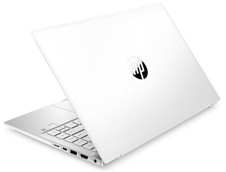 HP Pavilion 14-dv0000の背面 セラミックワイト