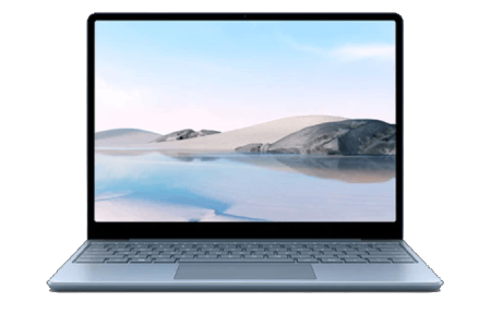 Surface Laptop Go 正面