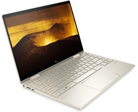 HP Envy x360 13-bd0000(インテル第11世代CPU搭載) 左斜め前から
