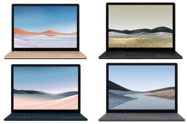 Surface Laptop 3 4種類のカラー