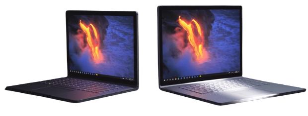 Surface Book 3の外観 13.5インチと15インチ