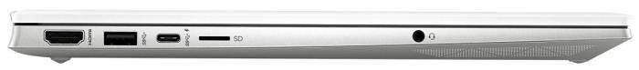 HP Pavilion 15-eg0000 左側面インターフェイス