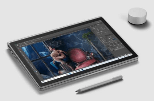 Surface Book 3 タブレットモード