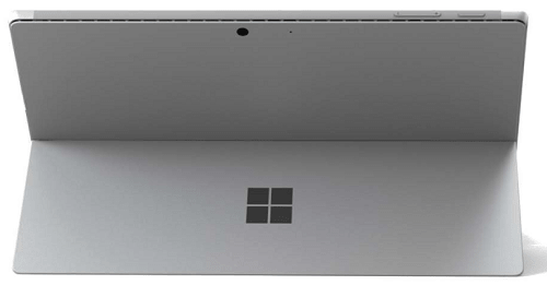 Microsoft Surface Pro 7の外観 背面