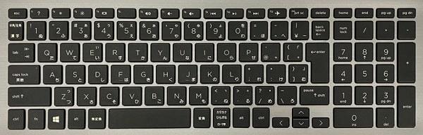 HP 470 G7のキーボード