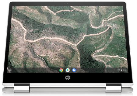 HP ChromeBook x360 12b-ca0000 タブレットモード