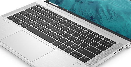 HP ProBook 635 Aero G7のキーボード