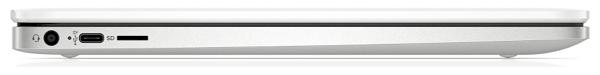 HP ChromeBook 14a 閉じた状態の左側面