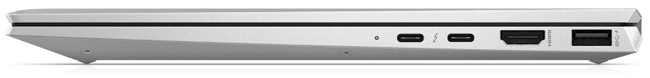 HP EliteBook x360 1040 G7 右側面インターフェイス