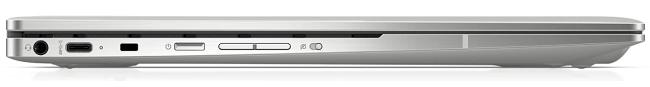 HP Chromebook x360 13cの左側面インターフェイス