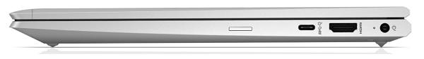 HP ProBook 635 Aero G7 閉じた状態の右側面