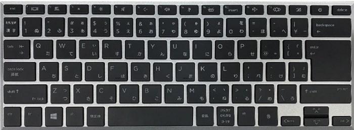 HP EliteBook x369 1040 G7のキーボード