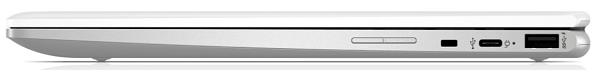 HP ChromeBook x360 12b-ca0000 閉じた状態の側面