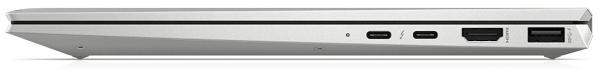 HP EliteBook x360 1040 G7 閉じた状態の右側面
