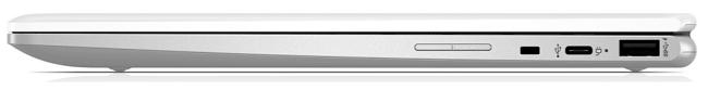 HP ChromeBook x360 12b-ca0000 右側面インターフェイス