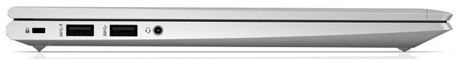 HP ProBook 635 Aero G7 左側面インターフェイス