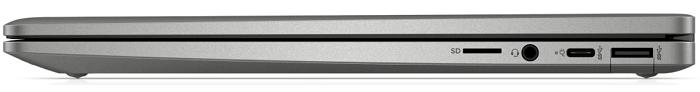 HP ChromeBook x360 14c 右側面のインターフェイス