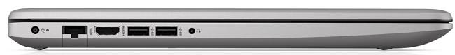 HP 470 G7の左側面インターフェイス