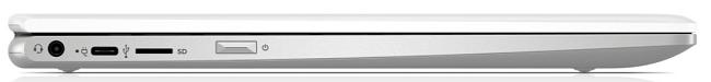 HP ChromeBook x360 12b-ca0000 左側面インターフェイス
