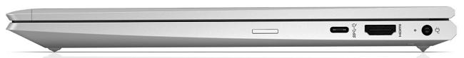HP ProBook 635 Aero G7 右側面インターフェイス
