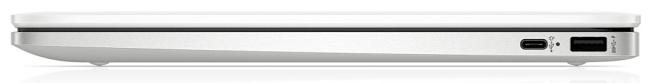 HP ChromeBook 14aの右側面インターフェイス
