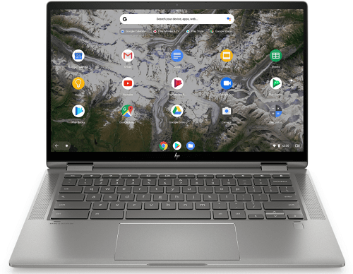 HP ChromeBook x360 14cの外観 正面