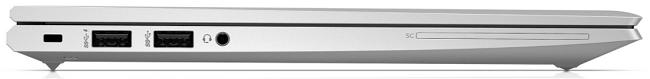 HP EliteBook 830 G7 左側面インターフェイス
