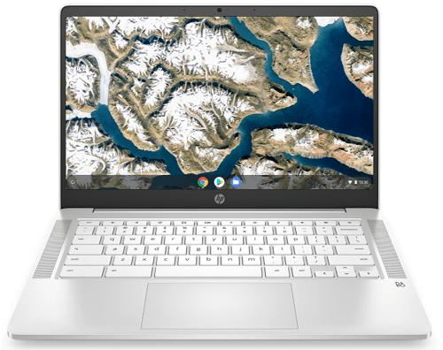HP ChromeBook 14aの外観 正面