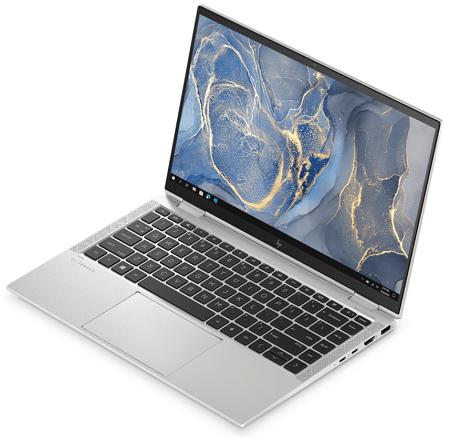 HP EliteBook x360 1040 G7 右斜め前から