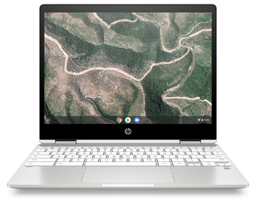 HP ChromeBook x360 12b-ca0000の外観 正面