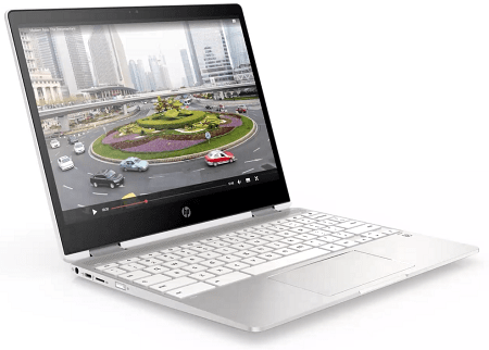 HP ChromeBook x360 12b-ca0000の外観