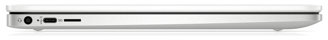 HP ChromeBook 14aの左側面インターフェイス