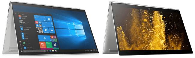 HP Elitebook x360 1040 G7と旧機種の比較
