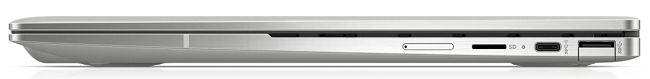 HP Chromebook x360 13cの右側面インターフェイス