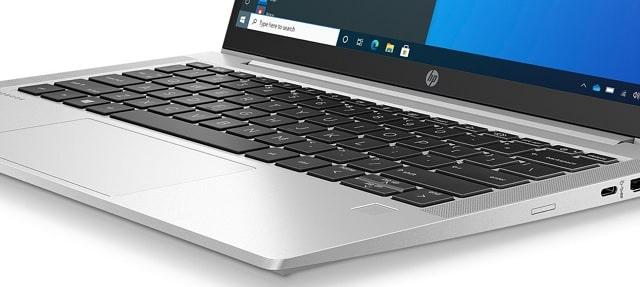 HP ProBook 635 Aero G8のキーボード
