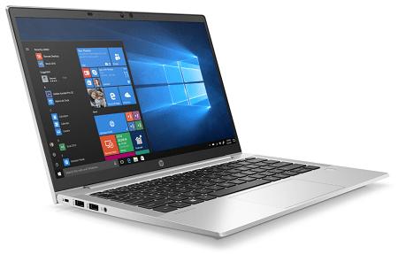HP ProBook 635 Aero G7 左斜め前から